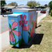 Electrical box Beautification project by Macy Intermediate students at Elmgate and Garfield May 2017