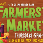 Farmers Market banner 5-9pm