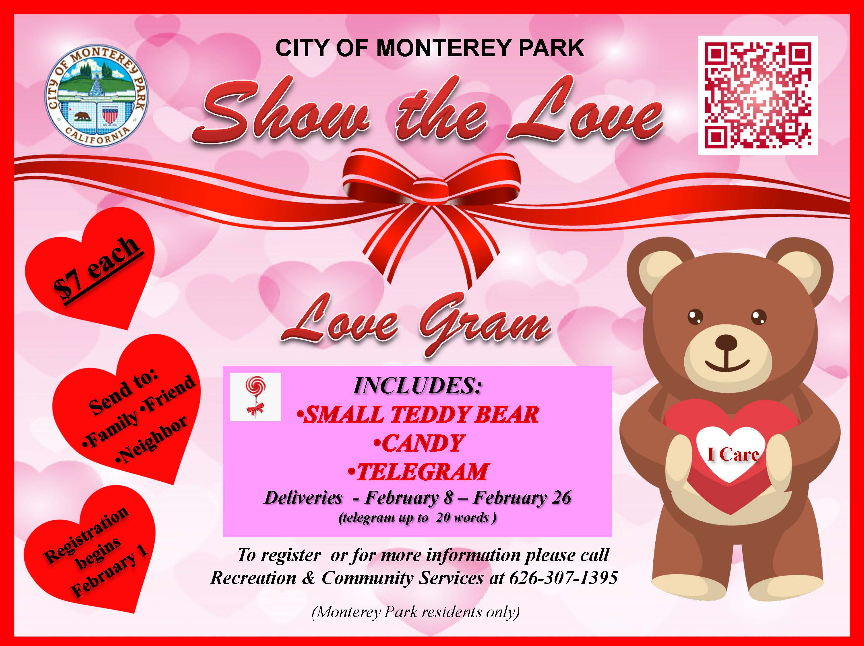 Show the Love Flyer