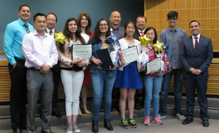 05-16-2017 Monterey Park Youth Leadership Academy Graduating Class