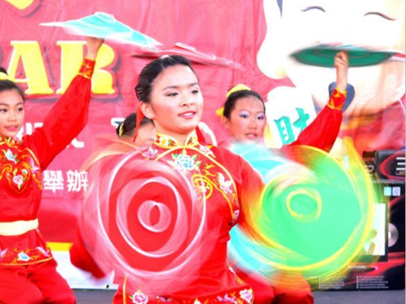 Lunar New Year Folk Dancing