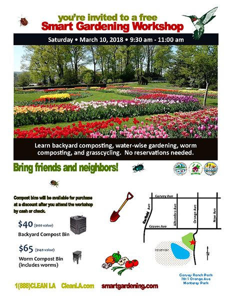 LA County Smart Gardening Workshop MPK 3-10-18