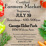 MPK Farmers Market reopening July 19, 2018 flyer