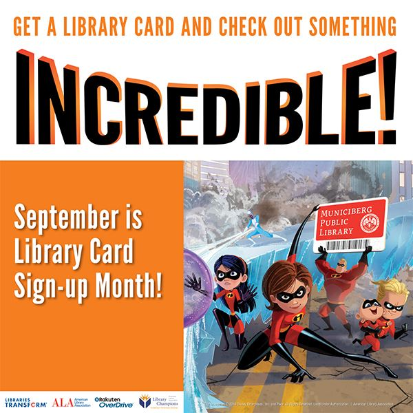 Library card sign-up month sept 2018