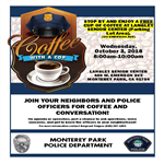 Coffee with Cop 2018 flyer 10-03-18