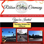 South Garfield Village Ribbon Cutting 10-4-18 flyer