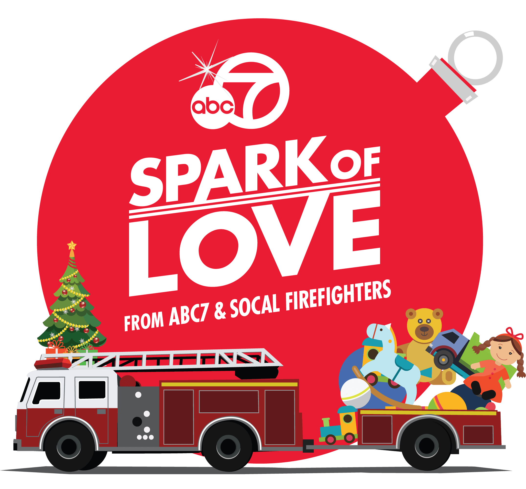 Spark of Love Toy Drive 2018 logo