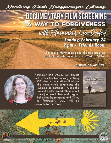 Library A Way to Forgiveness screening 2-24-19 flyer