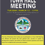 Town Hall Mtg 3-12-19 Brightwood Sch