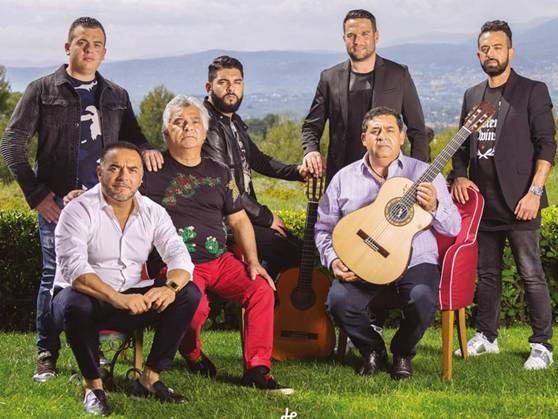 Gipsy Kings band group photo