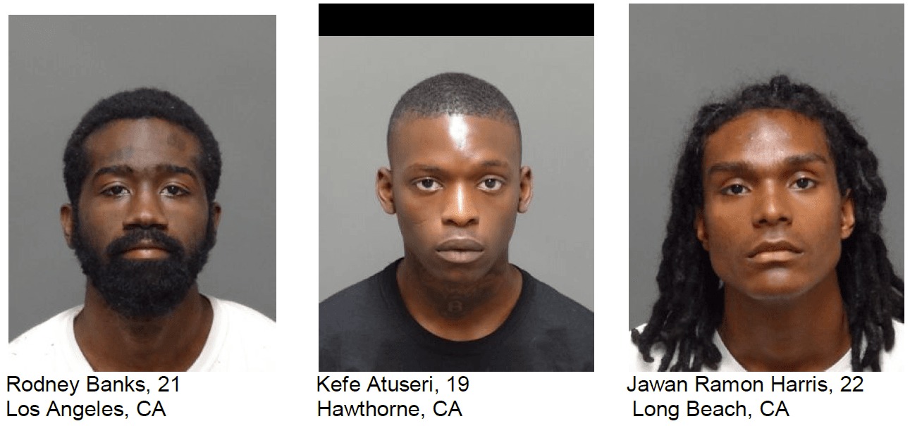 News Release residential burglary suspects 5-8-19 Banks Atuseri Harris