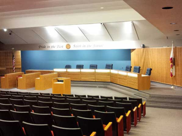 Monterey Park City Hall Council Chamber