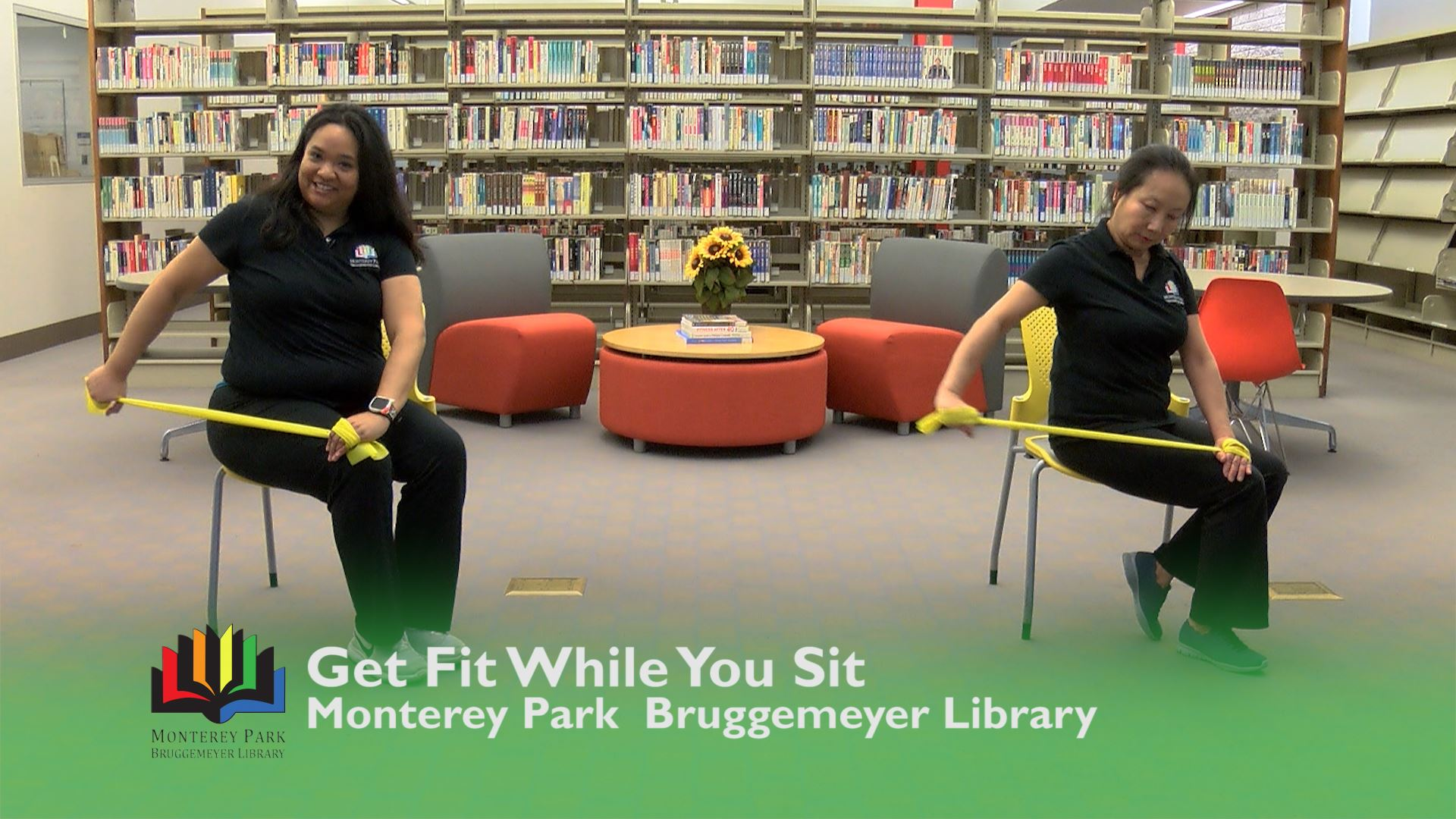 Get Fit While You Sit-Chairs Still