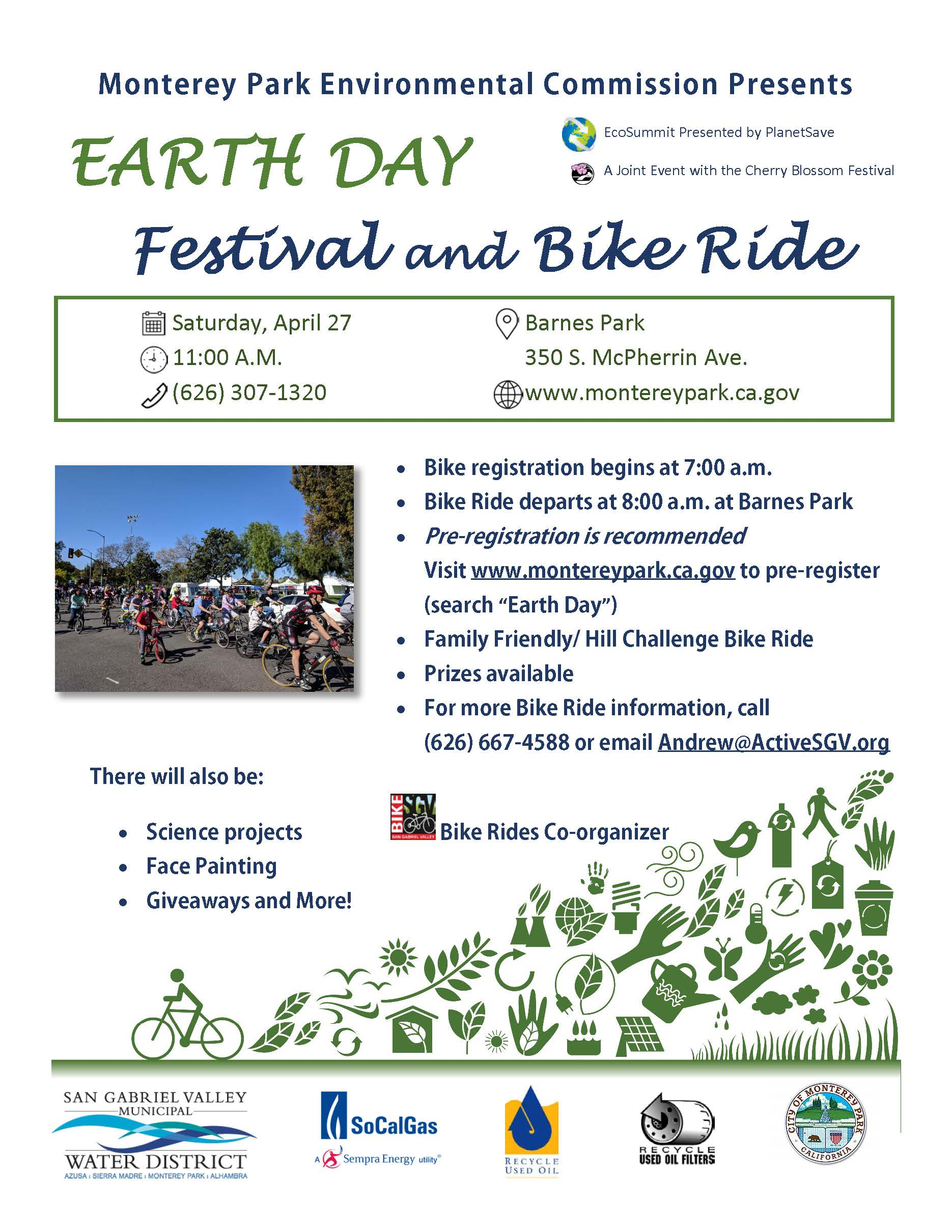 Monterey Park Cherry Blossom Festival 2020 Earth Day Festival | Monterey Park, CA   Official Website