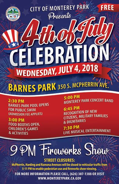 MPK Fourth of July 2018 Poster 391x600