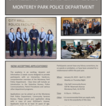 Citizens Academy 2019 flyer