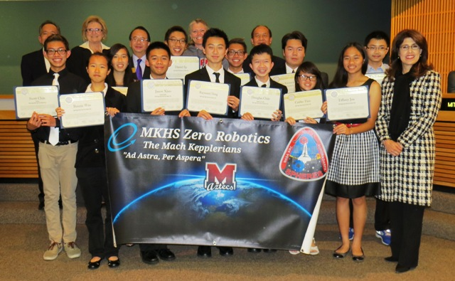012015 - Mark Keppel Zero Robotics Club