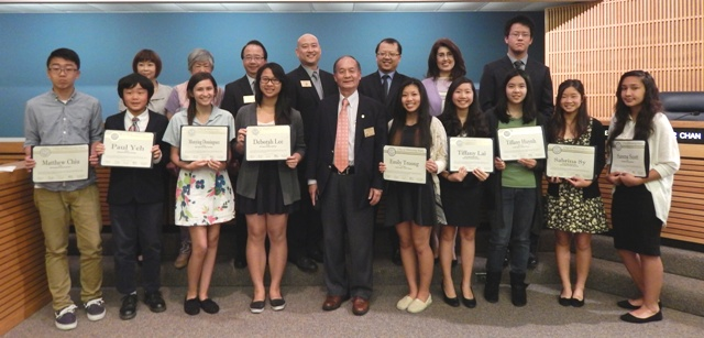 041514 - Optimist Clubs Oratorical Contest Winners