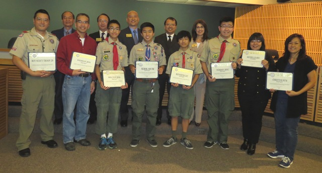 111814 - Boys Scouts Troop 329