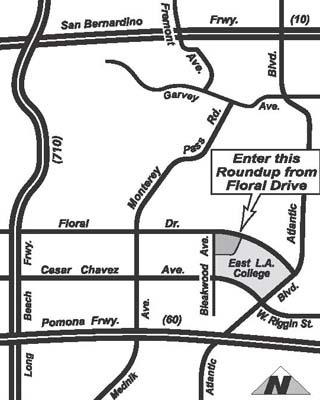 Image Result For Map Monterey Park